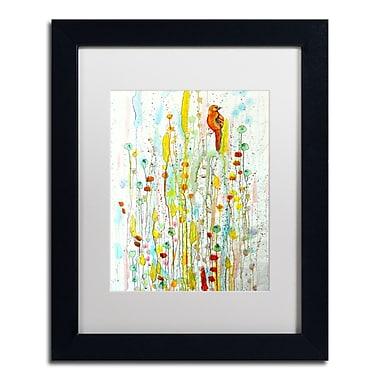 Trademark Fine Art Sylvie Demers 'Pause' 11 x 14 (ALI0903-B1114MF)