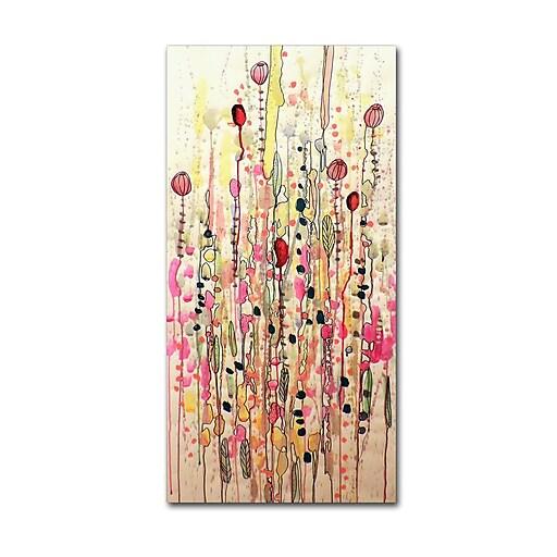 Trademark Fine Art Sylvie Demers 'Samsara'  12 x 24 (ALI0905-C1224GG)