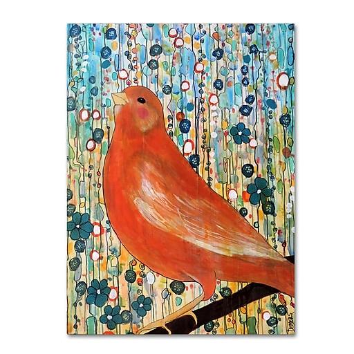Trademark Fine Art Sylvie Demers 'Serenade'  24 x 32 (ALI0906-C2432GG)