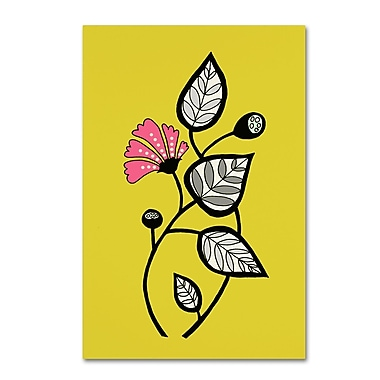 Trademark Fine Art Sylvie Demers 'Tanto Tiempo' 30 x 47 (ALI0907-C3047GG)
