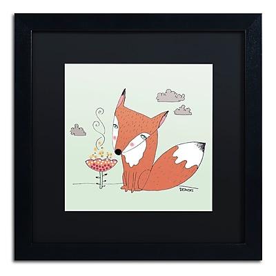 Trademark Fine Art Sylvie Demers 'Un Renard Dans La Cours' 16 x 16 (886511753280)