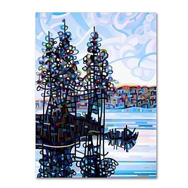 Trademark Fine Art Mandy Budan 'Haliburton Morning' 24 x 32 (ALI0920-C2432GG)