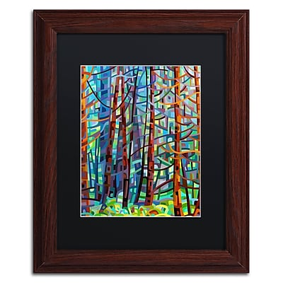 Trademark Fine Art Mandy Budan 'In A Pine Forest' 11 x 14 (886511754089)