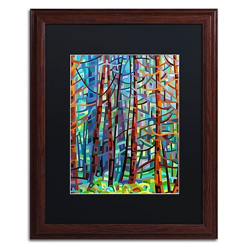 Trademark Fine Art Mandy Budan 'In A Pine Forest'  16 x 20 (886511754096)