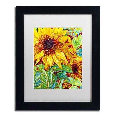 Trademark Fine Art Mandy Budan 'Summer In The Garden' 11 x 14 (ALI0934-B1114MF)
