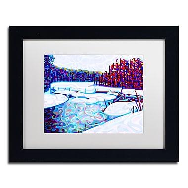 Trademark Fine Art Mandy Budan 'Thaw' 11 x 14 (ALI0937-B1114MF)
