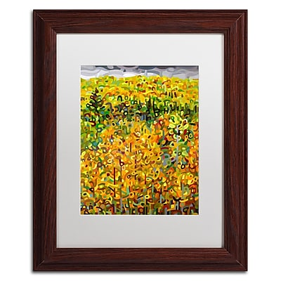 Trademark Fine Art Mandy Budan 'Towards Autumn' 11 x 14 (ALI0940-W1114MF)