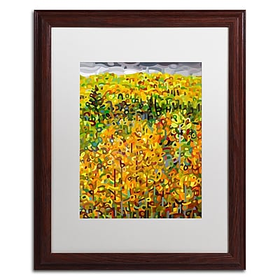 Trademark Fine Art Mandy Budan 'Towards Autumn' 16 x 20 (ALI0940-W1620MF)