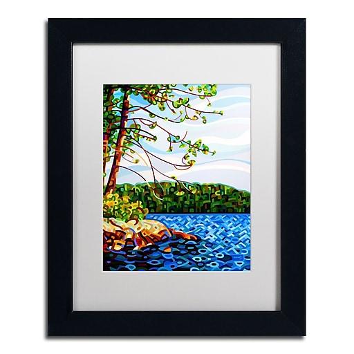 Trademark Fine Art Mandy Budan 'View From Mazengah'  11 x 14 (ALI0941-B1114MF)