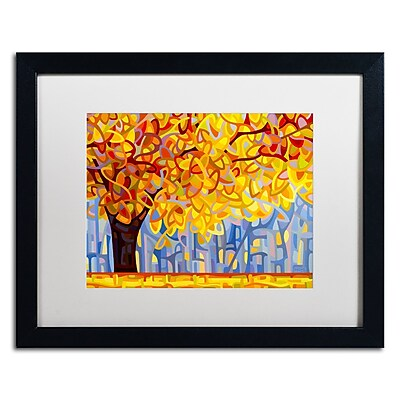 Trademark Fine Art Mandy Budan 'October Gold' 16 x 20 (ALI0945-B1620MF)