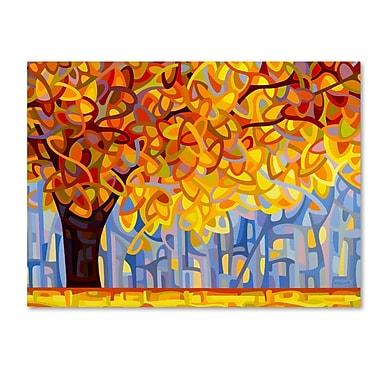 Trademark Fine Art Mandy Budan 'October Gold' 24 x 32 (ALI0945-C2432GG)