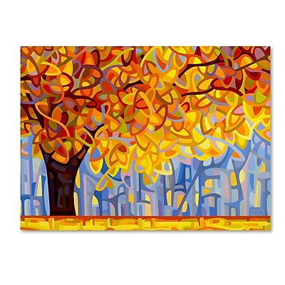 Trademark Fine Art Mandy Budan 'October Gold' 24 x 32 (ALI0945-C2432GG)