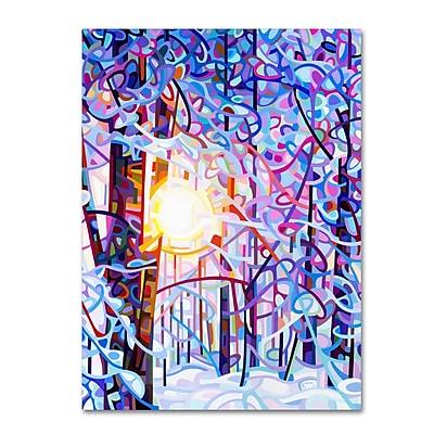 Trademark Fine Art Mandy Budan 'Early Riser' 18 x 24 (ALI0946-C1824GG)