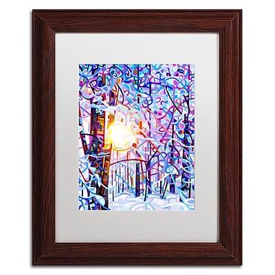 Trademark Fine Art Mandy Budan 'Early Riser' 11 x 14 (ALI0946-W1114MF)