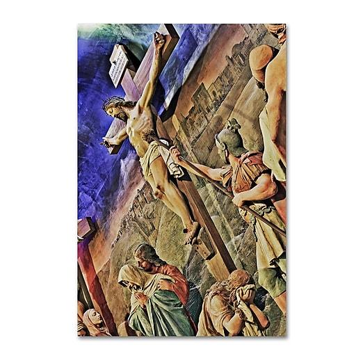 Trademark Fine Art Gregory O'Hanlon 'Altar of Calvary'  30 x 47 (GO0033-C3047GG)