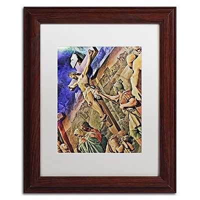 Trademark Fine Art Gregory O'Hanlon 'Altar of Calvary' 11 x 14 (GO0033-W1114MF)
