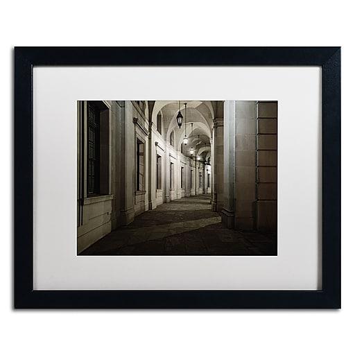 Trademark Fine Art Gregory O'Hanlon 'Ariel Rios Walkway-Night'  16 x 20 (GO0034-B1620MF)