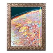 "Trademark Global Lowell S.V. Devin 'Mars Impression' 16"" x 20"" Ornate Framed Art (LSV0055-G1620F)"