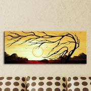 Metal Art Studio  Golden Harmony  by Megan Duncanson Painting Print Plaque