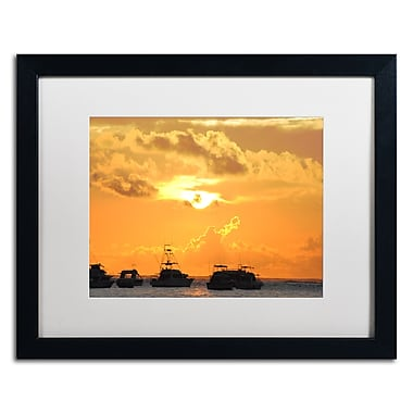 Trademark Fine Art Monica Mize 'Kipona Aloha' 16 x 20 (MF152-B1620MF)