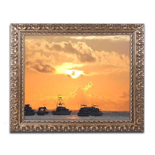Trademark Fine Art Monica Mize 'Kipona Aloha'  11 x 14 (MF152-G1114F)
