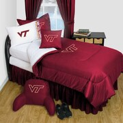 Sports Coverage Virginia Tech Comforter; Twin