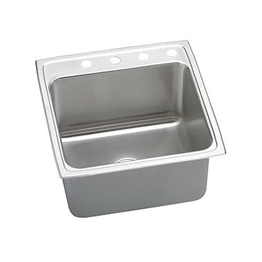 Elkay Gourmet 19.5'' x 22'' x 10.13'' Top Mount Kitchen Sink; OS4 Hole