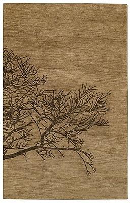 Capel Desert Plateau Tree Bark Shadow Branch Area Rug; 8' x 11'
