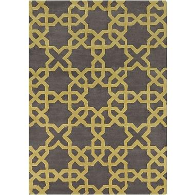 Chandra Davin Moroccan Pattern Rug; 5' x 7'