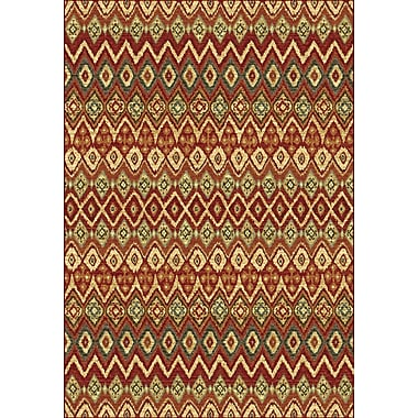 Dynamic Rugs Heritage Geometric Area Rug; Runner 2'2'' x 7'7''