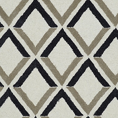 Dynamic Rugs Palace Ivory Geometric Area Rug; 8' x 11'
