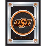 Holland Bar Stool NCAA  Logo Mirror Framed Graphic Art; Oklahoma State