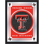 Holland Bar Stool NCAA  Logo Mirror Framed Graphic Art; Texas Tech