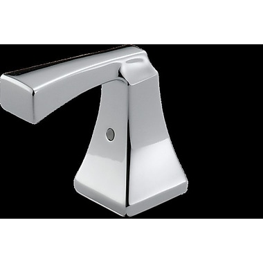 delta dryden two metal lever handle kit chrome - Delta Dryden