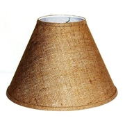 Lamp Factory 15'' Burlap Fabric Empire Lamp Shade