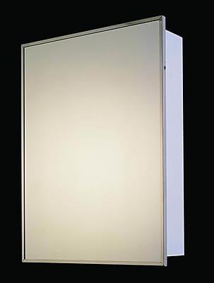 Ketcham Medicine Cabinets Euroline 16'' x 26'' Surface Mounted Medicine Cabinet