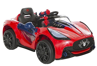Dynacraft Spider-Man 6V Battery Powered Super Car