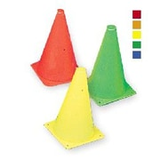 360 Athletics C90 9'' Pylon Cone, Orange, 10/Pack