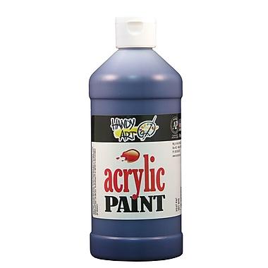 Handy Art 101-075 Acrylic Paint, 16oz, Violet, 12/Pack