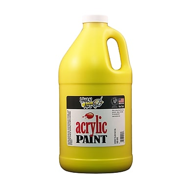 Handy Art 103-010 Acrylic Paint, 32oz, Yellow
