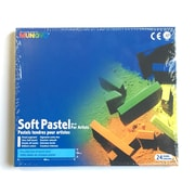 Mungyo MPV12 Gallery Artists' Soft Chalk Pastels, 24 Colours, 6/Pack