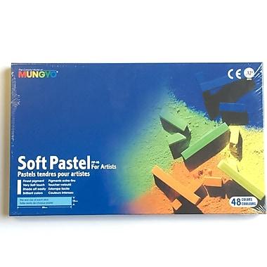 Mungyo MPV12 Gallery Artists' Soft Chalk Pastels, 48 Colours, 6/Pack