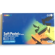 Mungyo MPV12 Gallery Artists' Soft Chalk Pastels, 48 Colours, 6/Pack