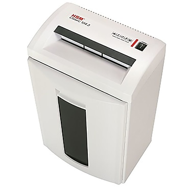 HSM - Déchiqueteur Classic 104.3 à coupe en lisières, capacité de 24 feuilles