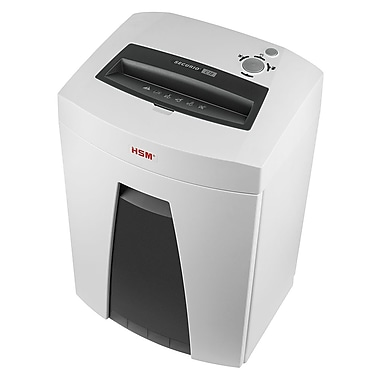 "HSM Securio C18-1/4"" Strip-Cut Shredder, 20 Sheets Capacity"