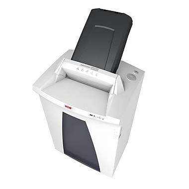 HSM Securio AF500C Cross-cut Shredder with Automatic Paper Feed, 500 auto/121.7 manual Capacity