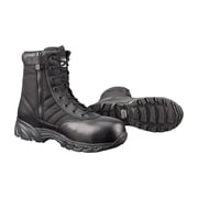 "Original S.W.A.T CSA Classic 9"" Waterproof Side Zip Safety Men's Black Boots, Wide Width"