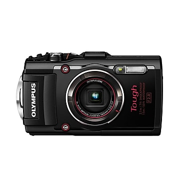 Olympus TG-4 Tough Digital Camera, Black