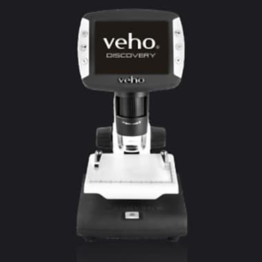 Veho – Microscope numérique USB autonome à écran ACL avec caméra VMS-005