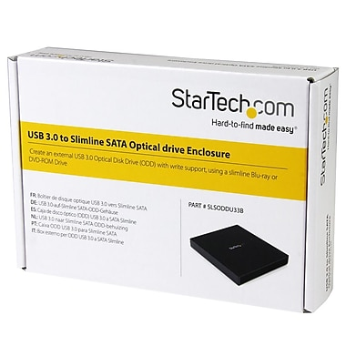 StarTech® USB 3.0 to Slimline SATA ODD Enclosure